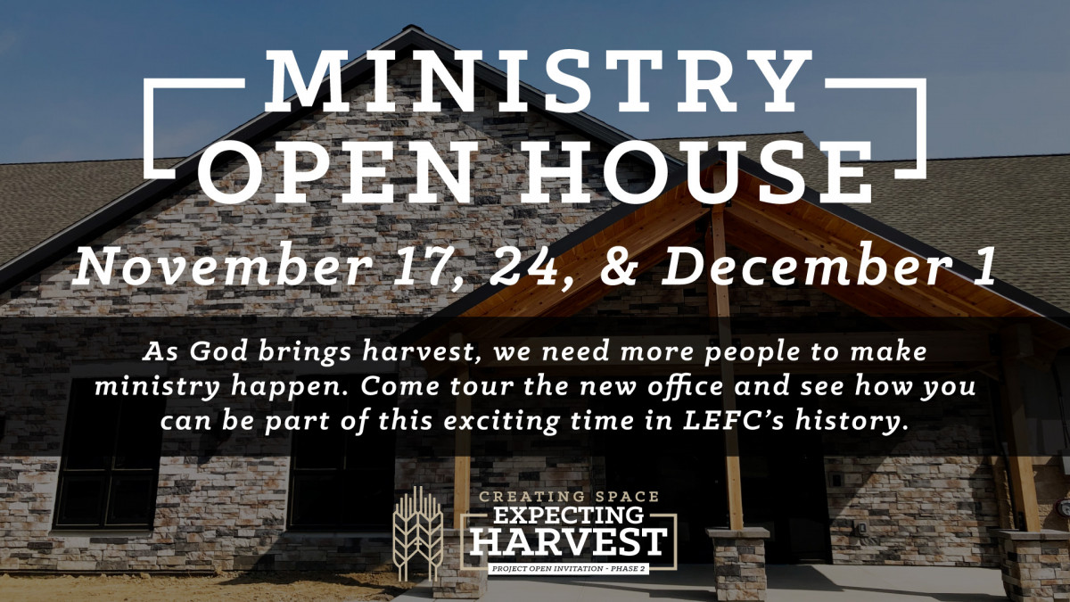 Ministry Open House