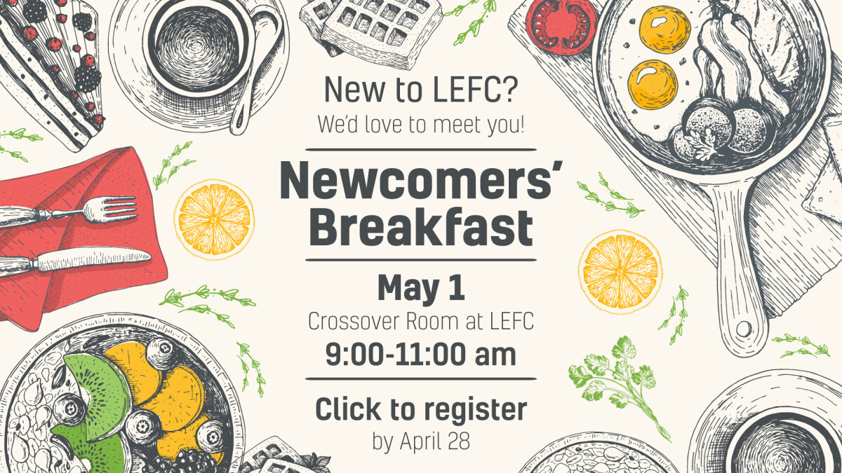Newcomers Breakfast May 2021